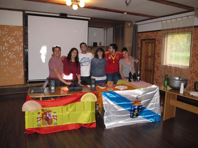 Spanish Team!!!