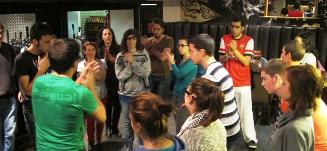 Body Percussion Workshop, by Jorge Perez